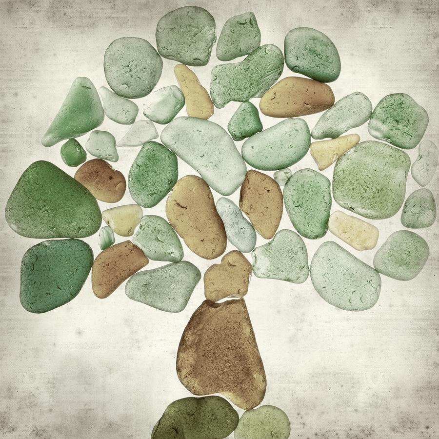 sea glass tree